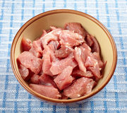 Сырцовое мясо индюка Стоковое Фото