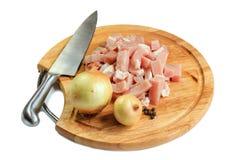 Сырцовое мясо отрезка Стоковые Изображения
