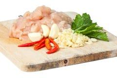 Сырцовое мясо цыпленка стоковые фото