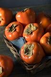 Сырцовое органическое оранжевое Perssimons Стоковые Фотографии RF