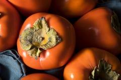 Сырцовое органическое оранжевое Perssimons Стоковая Фотография RF