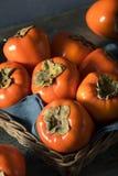 Сырцовое органическое оранжевое Perssimons Стоковая Фотография