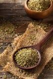 Сырцовое органическое семя фенхеля Стоковая Фотография