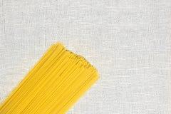 Сырцовое положение квартиры спагетти Стоковое фото RF