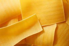 Сырцово, макаронные изделия лазаньи стоковое фото