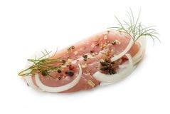 Сырцово chiken мясо стоковая фотография