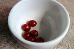Сырцовые вишни кофе Стоковая Фотография RF
