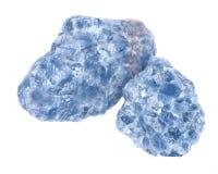 Сырцовые голубые группы кальцита Стоковое Изображение RF