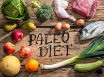 Сырцовые здоровые dieting продукты Стоковое фото RF