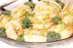 Сырцовые картошки с сельдереем Стоковая Фотография RF