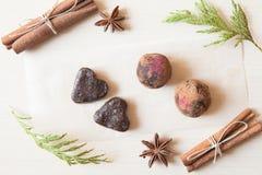 Сырцовые конфеты Стоковое Изображение RF