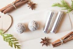 Сырцовые конфеты Стоковое Фото