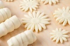 Сырцовые макаронные изделия для закуски Стоковое Изображение RF