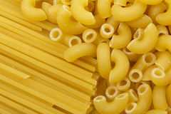 Сырцовые макаронные изделия Стоковое фото RF