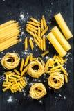 Сырцовые макаронные изделия Стоковые Изображения RF