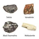 Сырцовые минералы Стоковые Фотографии RF
