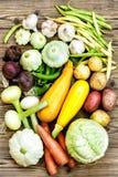 сырцовые овощи Стоковое Изображение