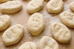 Сырцовые пирожки стоковое изображение
