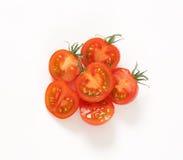 Сырцовые половины томата Стоковая Фотография