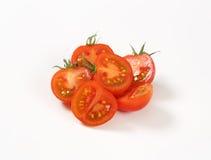 Сырцовые половины томата Стоковое Изображение