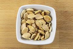 Сырцовые семена тыквы Стоковое Изображение RF