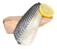 Сырцовые филе рыб скумбрии Стоковое Изображение RF