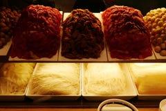 Сырцовый говяжий фарш с лапшами Стоковое Изображение