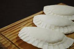 Сырцовый заполненный пирог стоковое изображение rf