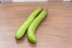 Сырцовый зеленый овощ баклажана Стоковое Изображение