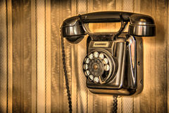 Сырцовый классицистический телефон Стоковое Фото
