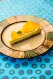 Сырцовый пирог лимона vegan Стоковая Фотография RF