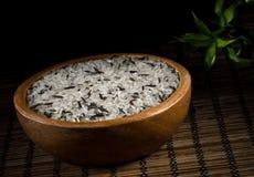 Сырцовый рис в шаре Стоковое Изображение