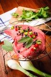 Сырцовый стейк говядины Стоковые Фотографии RF