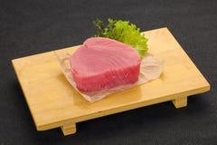 Сырцовый стейк тунца стоковые фото