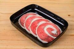 Сырцовый фланк говядины стоковое фото rf