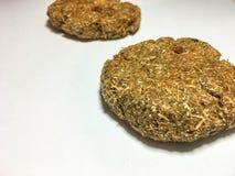 Сырцовый хлеб 2 от всего зеленого цвета зерен стоковое фото