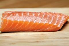 сырцовый salmon стейк Стоковые Фотографии RF