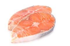 сырцовый salmon стейк Стоковое Изображение RF