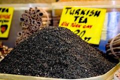 сырцовый turkish чая Стоковые Изображения
