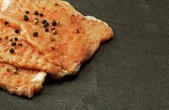 3 сырцовых части мяса на котлетах свиной отбивной Стоковая Фотография RF