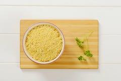 Сырые макаронные изделия алфавита Стоковое Фото