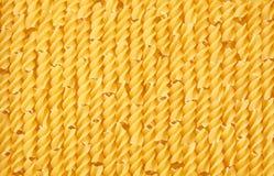 Сырые макаронные изделия fusilli Стоковое Фото
