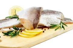 Сырые рыбы Стоковое Изображение