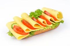 сыр багета Стоковые Изображения RF
