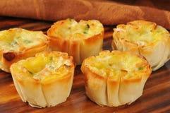 Сыр бекона и швейцарского сыра Стоковая Фотография