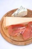 сыр бекона rustically Стоковое Фото