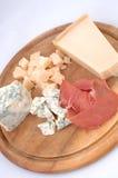 сыр бекона rustically Стоковое Изображение RF