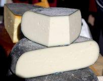 Сыр белизны голов фермы естественный органический Стоковая Фотография