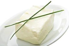 сыр блока мягкий Стоковые Изображения