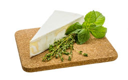 Сыр бри стоковая фотография